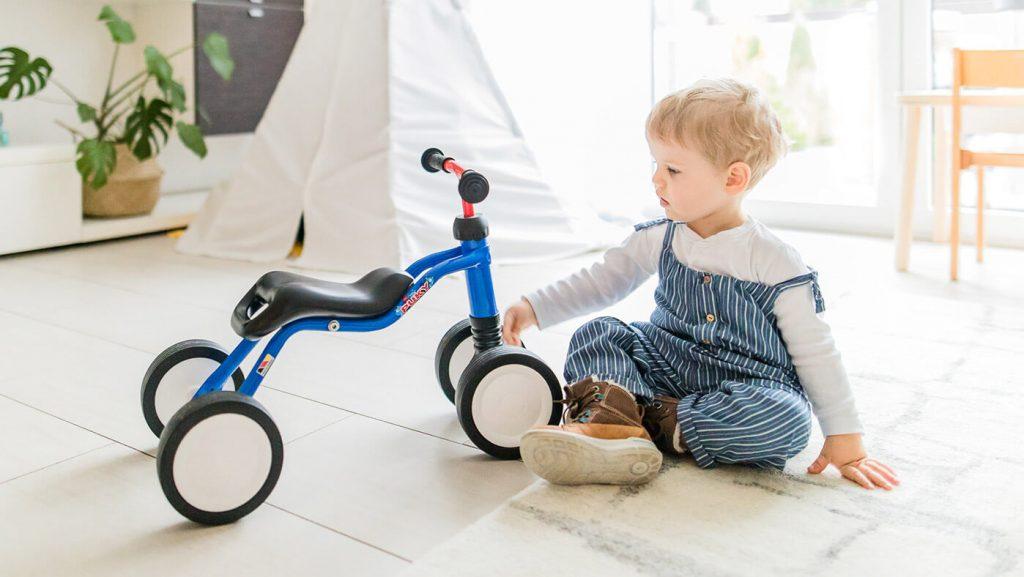 Jeździk dziecięcy Puky model Wutsch kolor niebieski