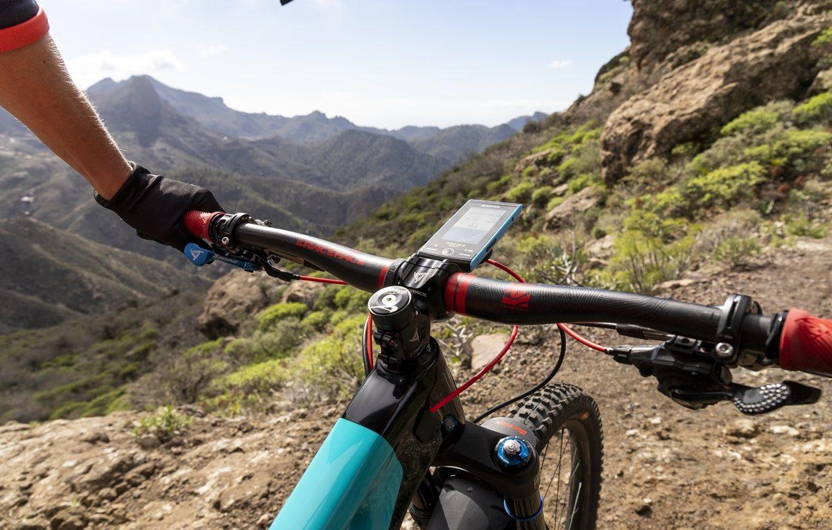 licznik rowerowy komputer sigma rox 12.0 GPS bezprzewodowy czarno niebieski