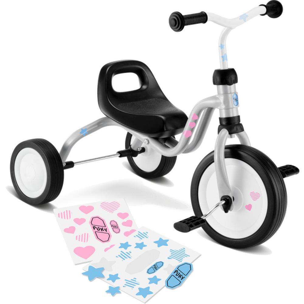 rowerek dziecięcy Puky trójkołowy model Fitsch kolor jasnoszary