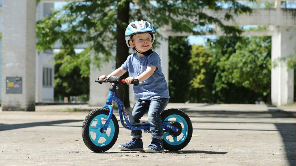 rowerek biegowy Puky dziecięcy model LR 1L niebieski
