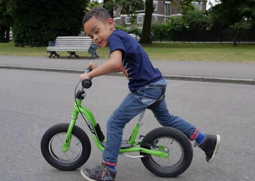 rowerek biegowy Puky model LR XL kolor zielony