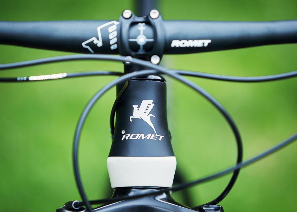 romet znak firmowy na rowerze pegaz