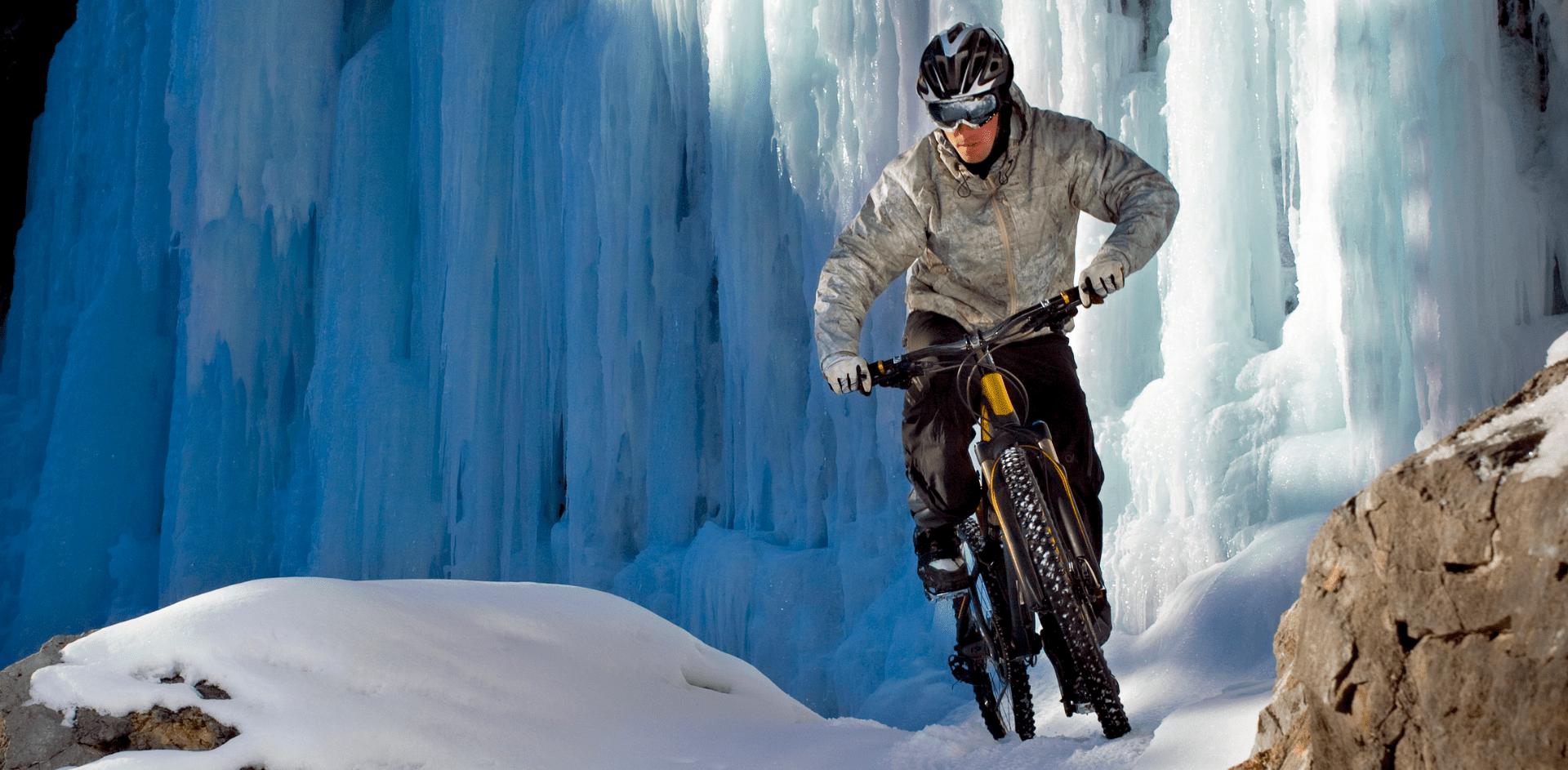 zimowy strój na rower