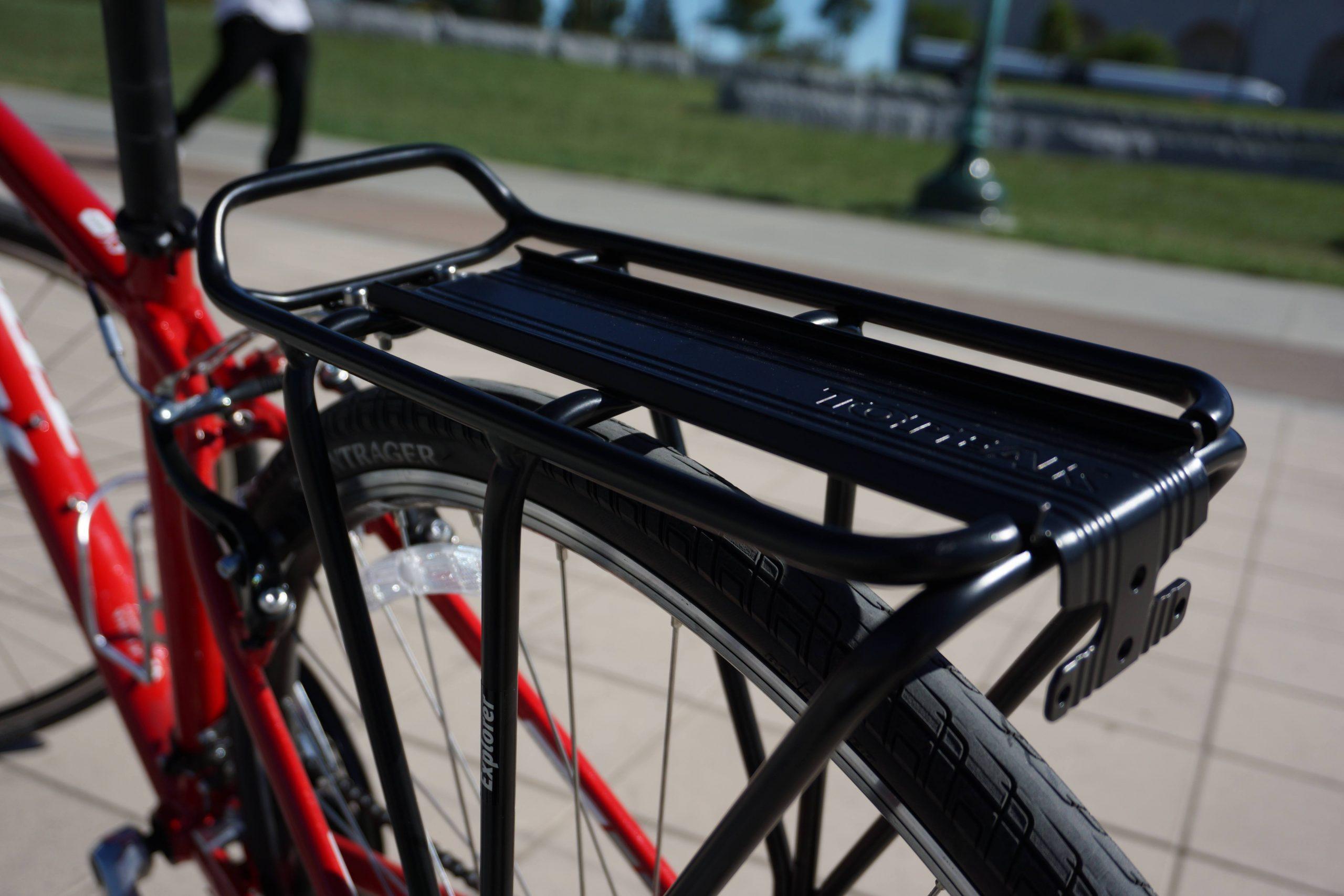 tylny bagażnik rowerowy