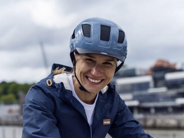 kask rowerowy zapewnia bezpieczeństwo