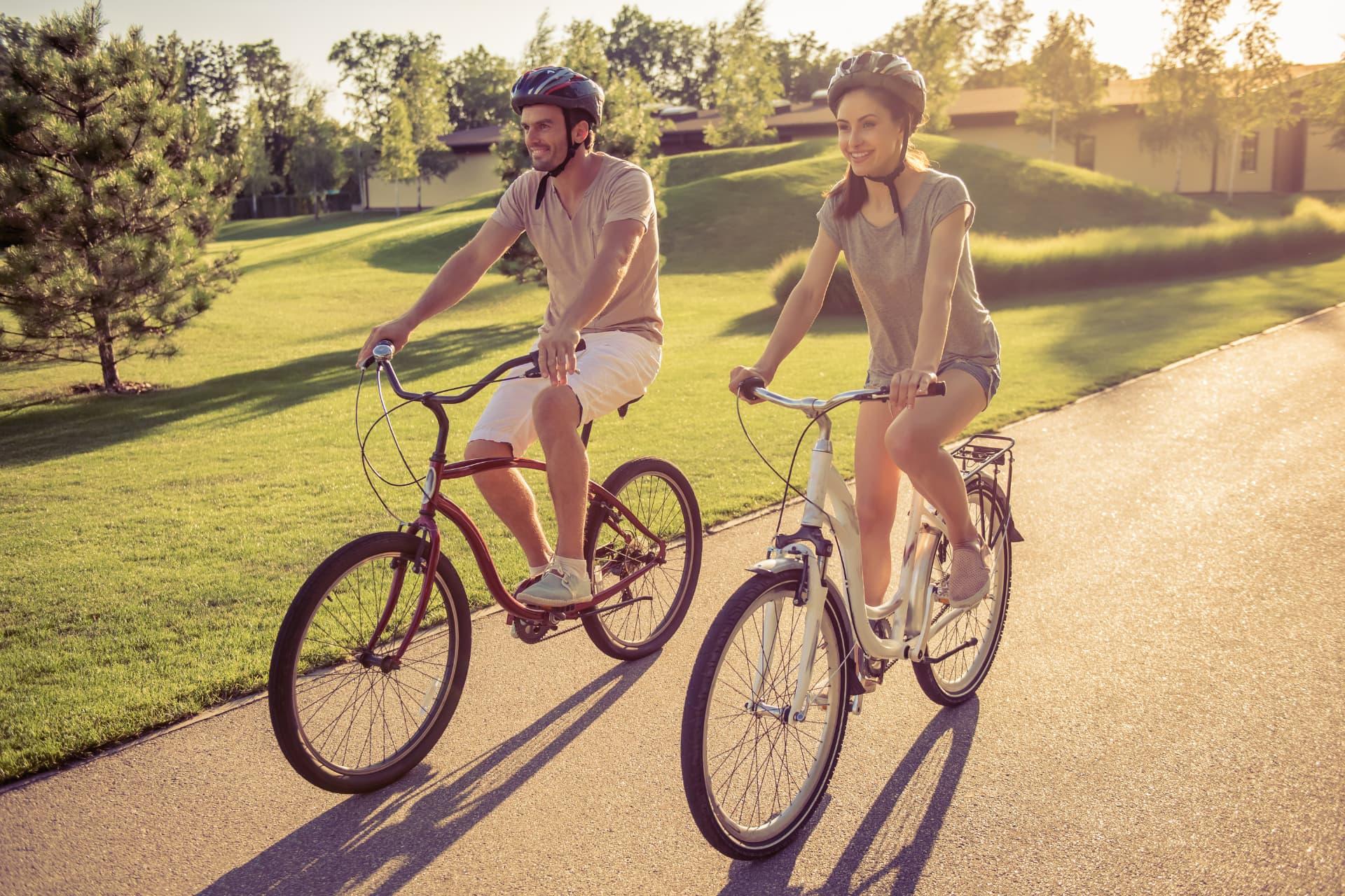 akcesoria do roweru miejskiego dla niej i dla niego