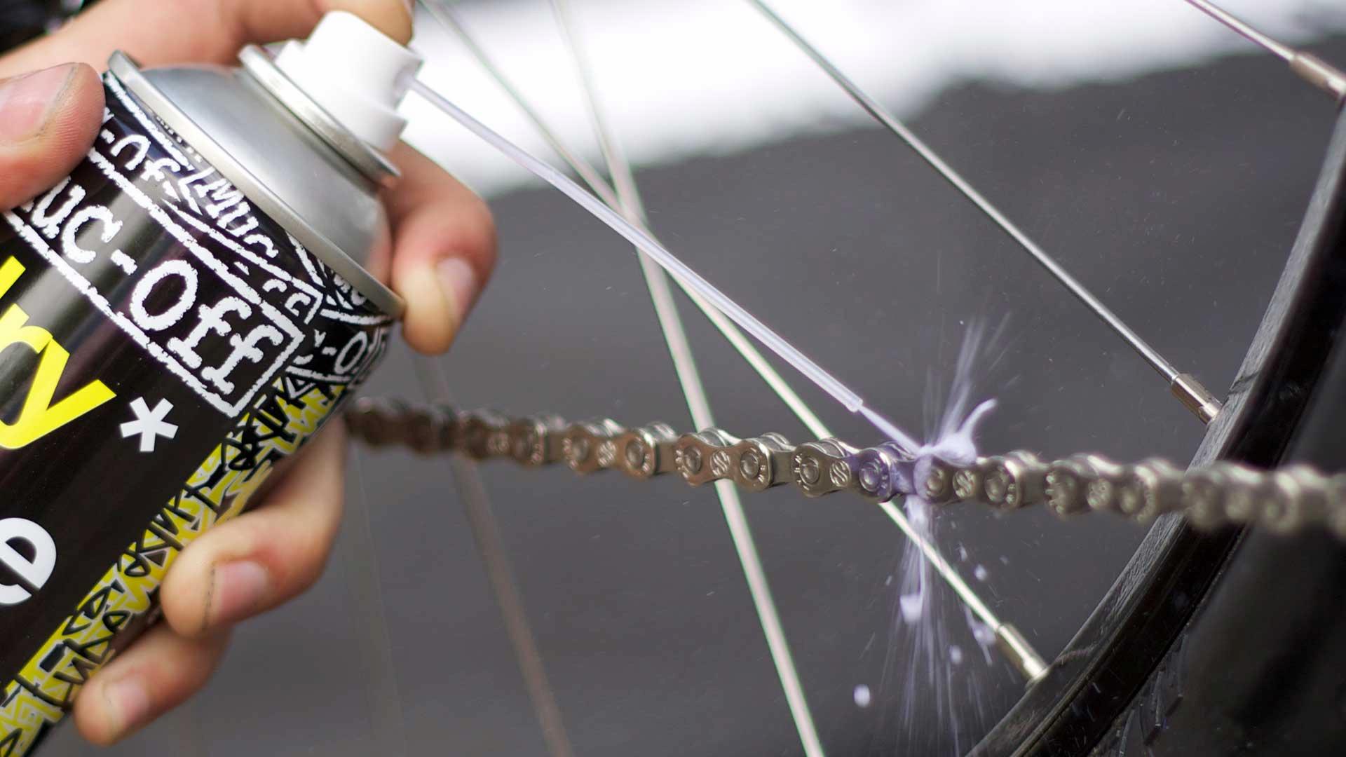 Wykorzystanie smaru do łańcucha rowerowego marki Muc-off