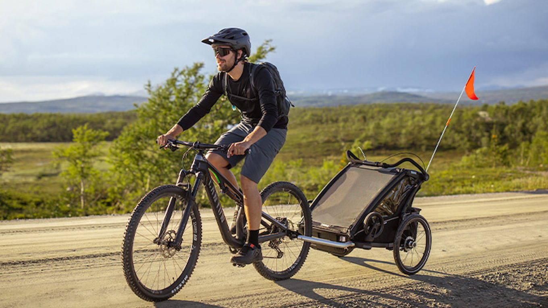 Wykorzystanie przyczepki rowerowej Thule w podróży