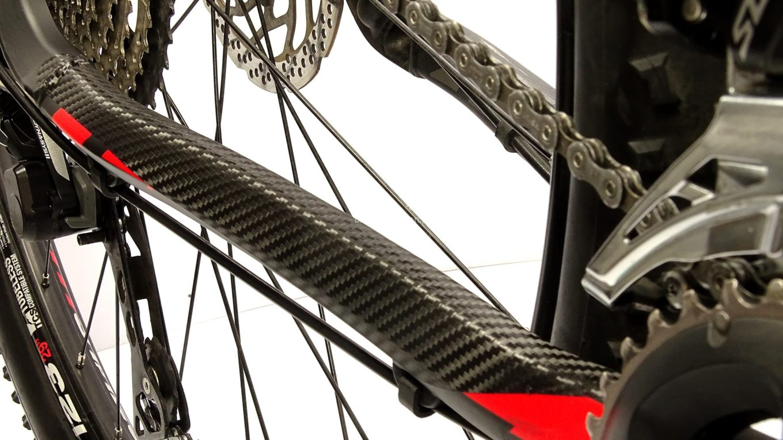 osłona rowerowa na tylnym trójkącie ramy