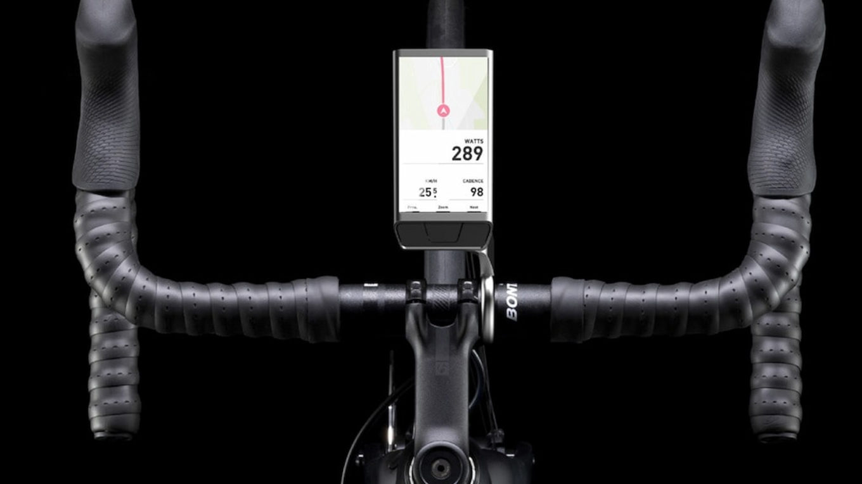 nawigacja rowerowa zastosowana w rowerze szosowym