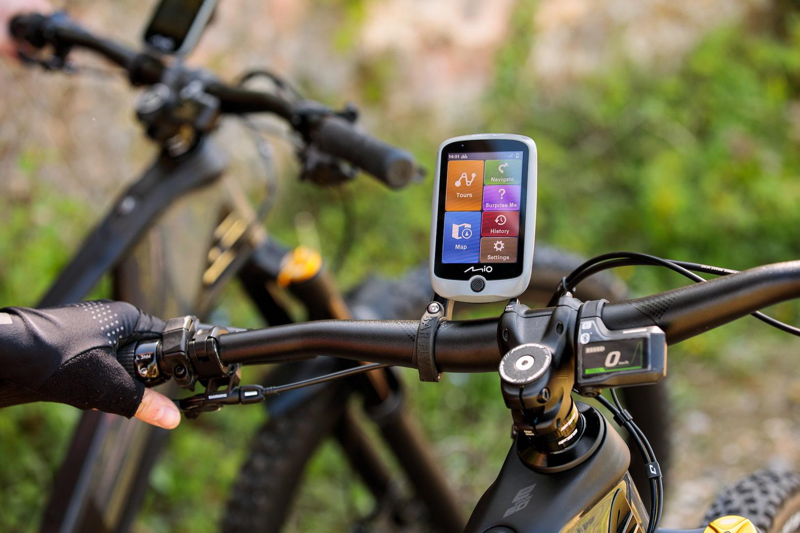 nawigacja rowerowa przydatna na wyprawie rowerowej
