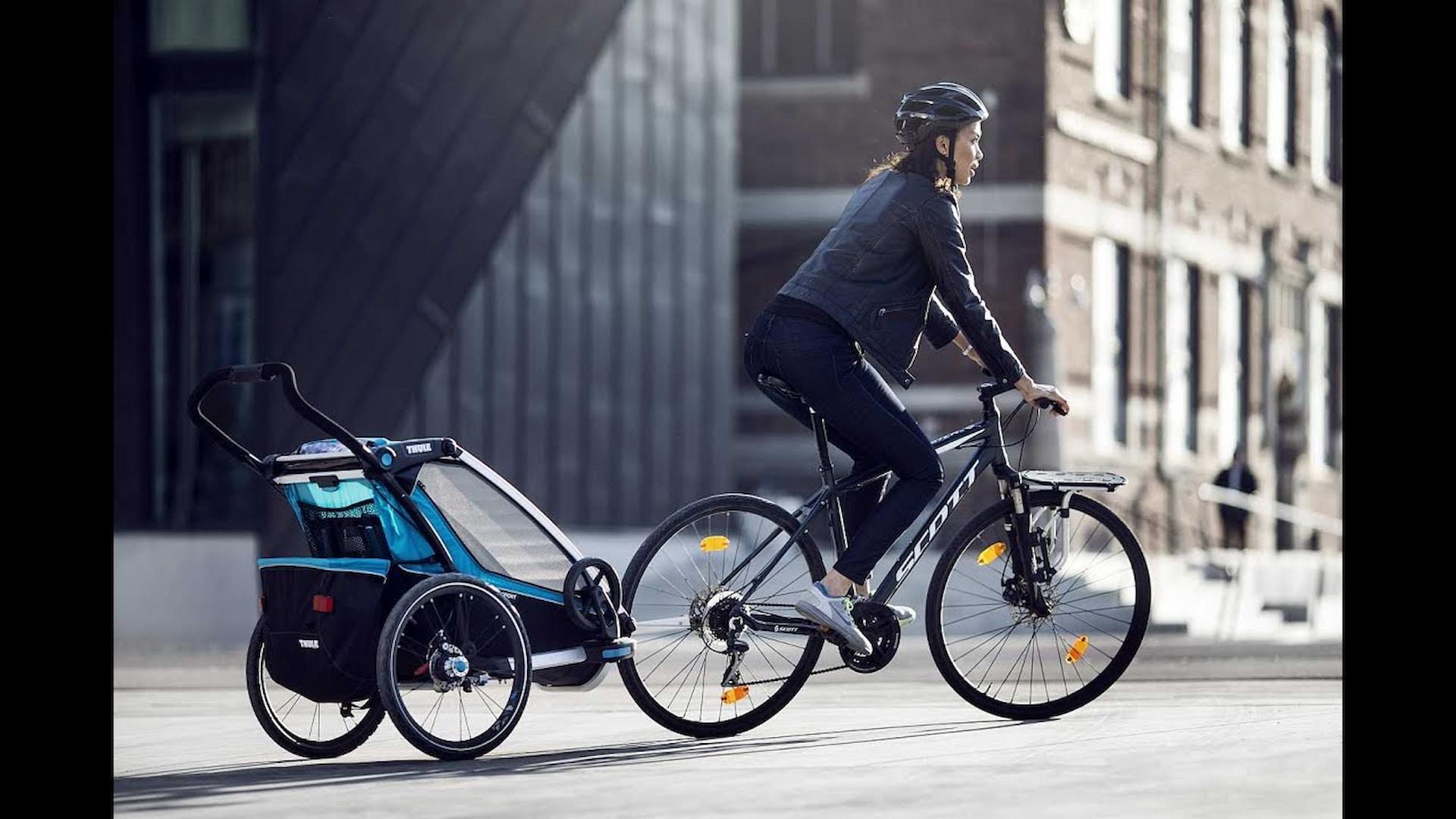 Przyczepka rowerowa do miasta