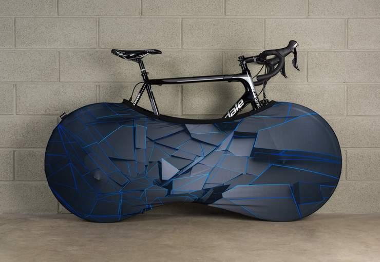 pokrowoec rowerowy chroniacy rower przed zabrudzeniami