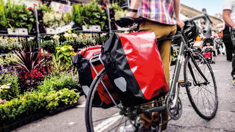 Ortlieb sakwy rowerowe na bagażniku